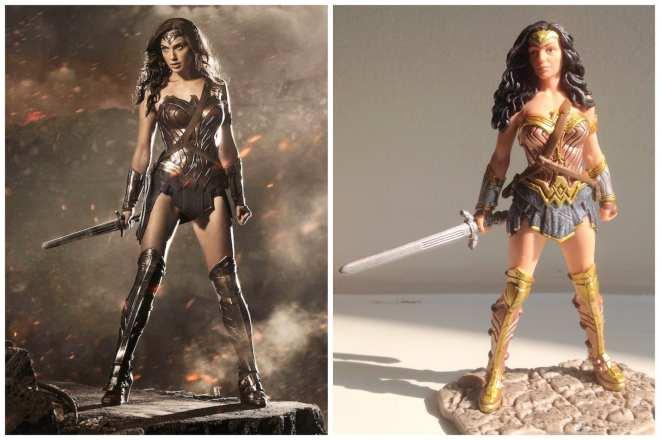 Gal Gadot Wonder Woman Schleich Figurine