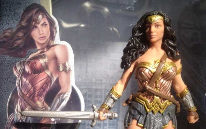 Gal Gadot Wonder Woman toy compare