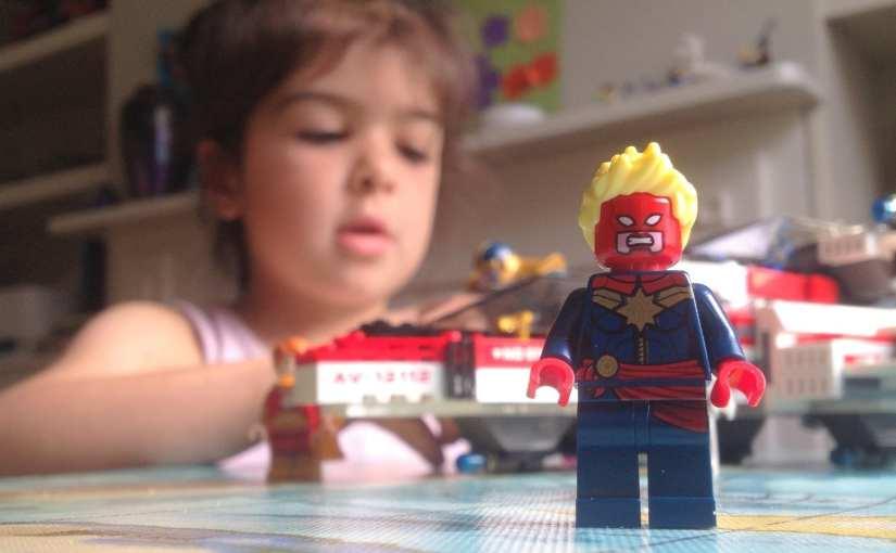 Lego Avenjet Space Mission 76049 Review, Captain Marvel LEGO,
