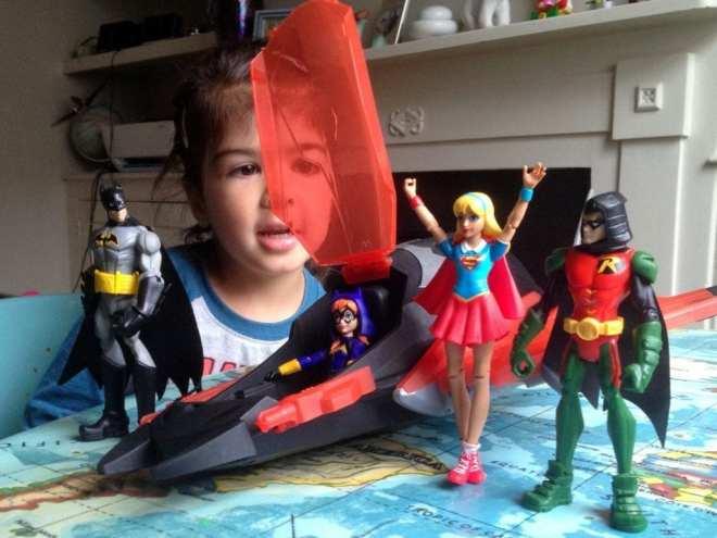 DC Super Hero Girls Action Figures compared with Batman Unlimited, DC Super Hero Girls UK, Mattel UK