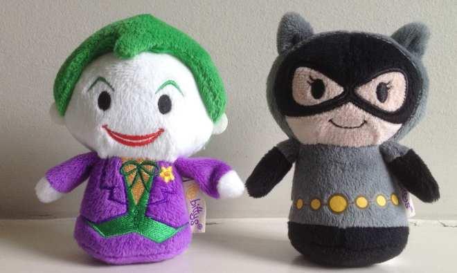 Hallmark's DC Superheroes Itty Bittys Joker Catwoman