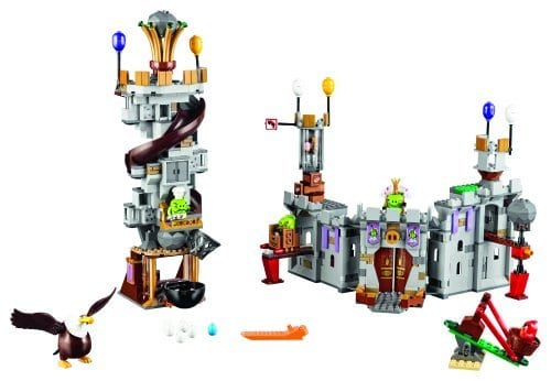 The Angry Birds Movie LEGO King Pig's Castle (75826) Review packshot