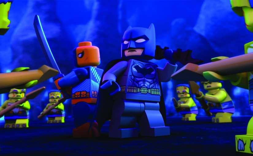 LEGO DC Justice League: Gotham City Breakout Blu-Ray/DVD ...