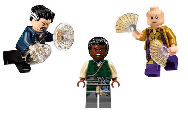 LEGO Marvel Super Heroes - Doctor Strange's Sanctum Sanctorum 76060 minifigures Doctor Strange Karl Mordo The Ancient One