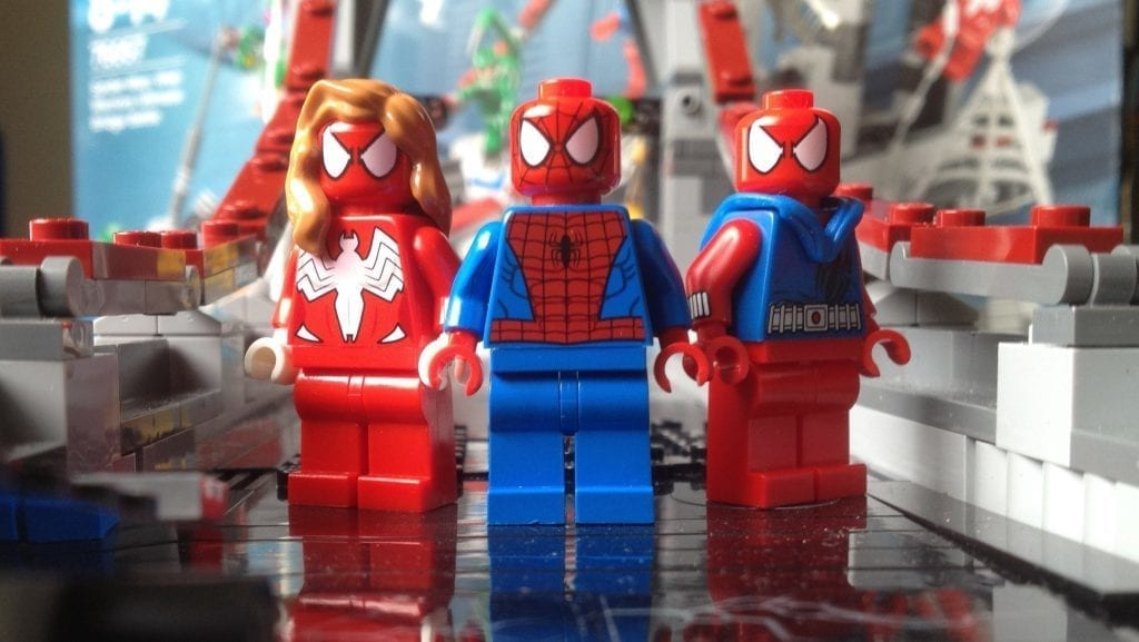 76057 Spider-Girl sh273 Lego Minifig
