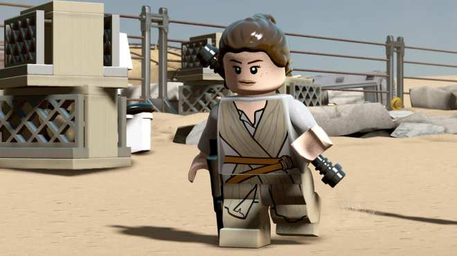LEGO Star Wars The Force Awakens Rey