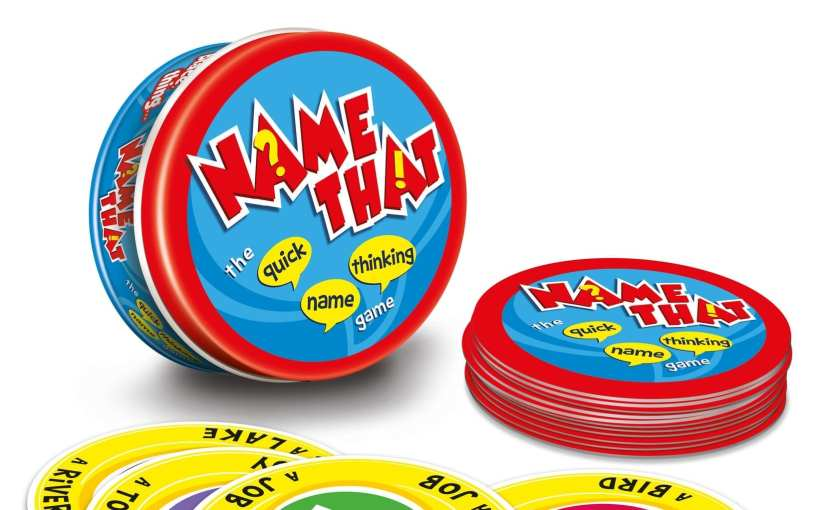 Name That! A Card Game Perfect for Travelling