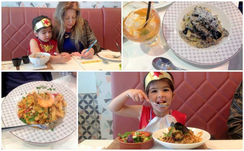 ASK Italian Amici Kids family dining experience