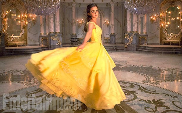 Emma Watson as Belle: Hopefully more than just a girl in a yellow party dress…