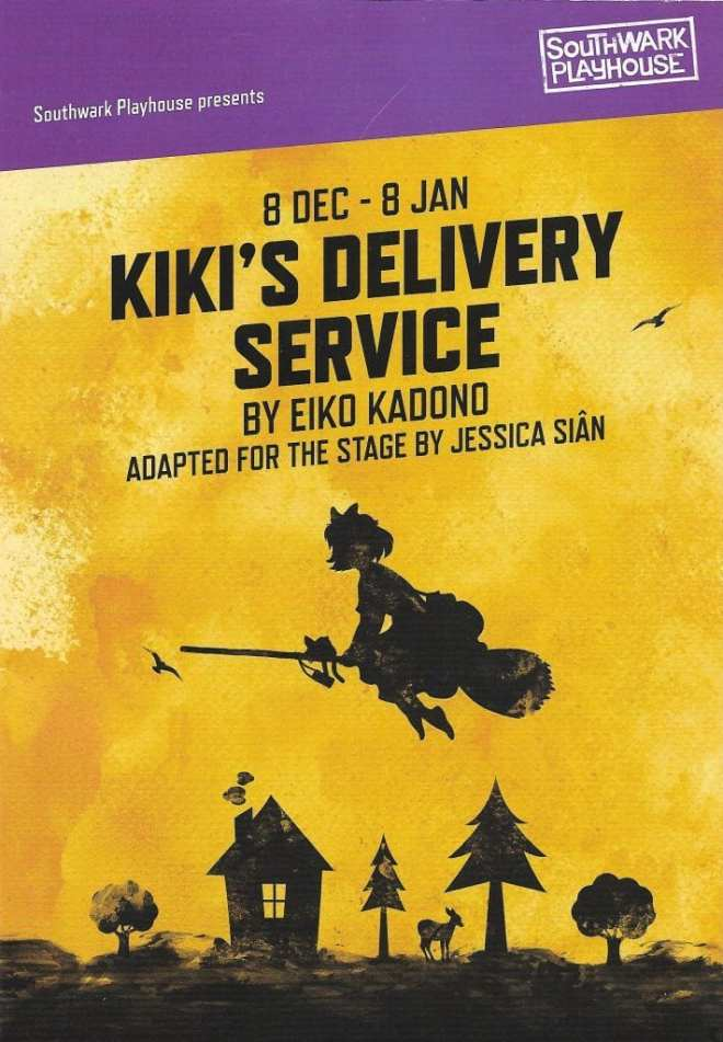 Kiki's Delivery Service play Southwark Playhouse poster