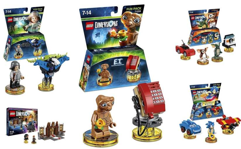 LEGO Dimensions Wave 7 – E.T., Gremlins, and more!