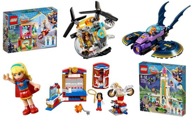 LEGO Female Superheroes, DC Super Hero Girls LEGO, female superhero lego, LEGO Friends superheroes