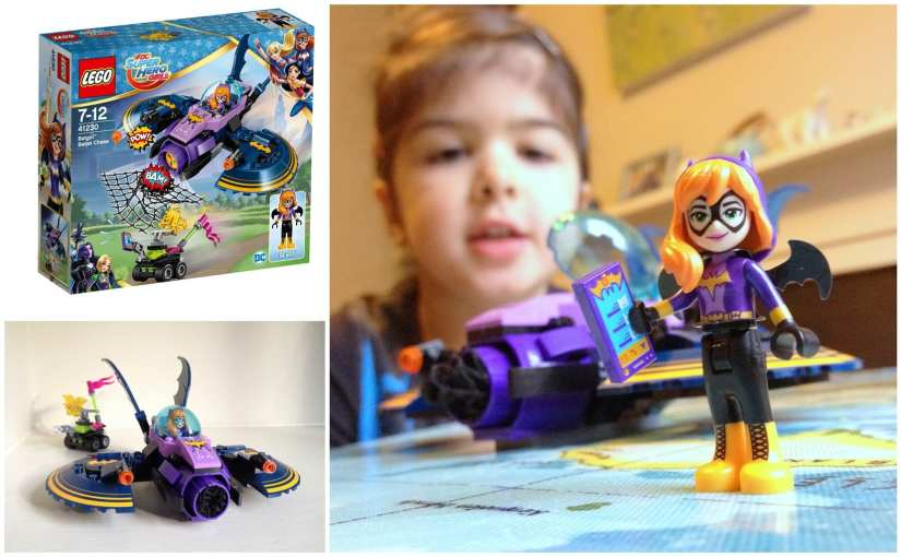 LEGO DC Super Hero Girls- Batgirl's Batjet photo (41230)