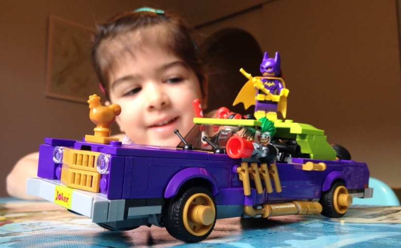The LEGO Batman Movie The Joker Notorious Lowrider set (70906)