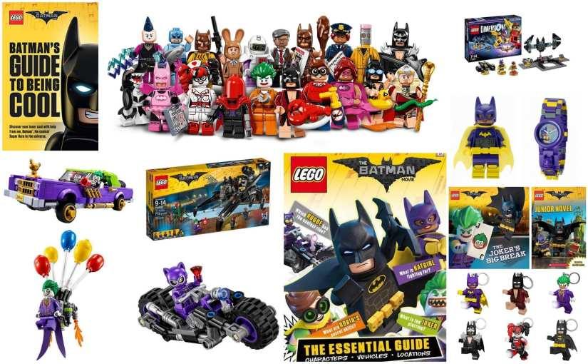 The LEGO Batman Movie merchandise round-up