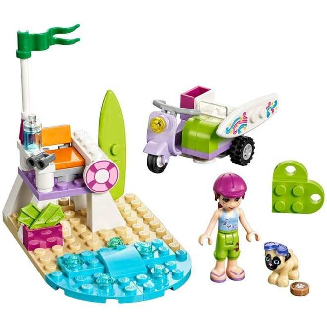 LEGO Friends 41306 Mia's Beach Scooter Building Toy