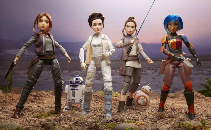 star-wars-forces-of-destiny-girls-dolls, Star Wars is for girls, Star Wars for girls