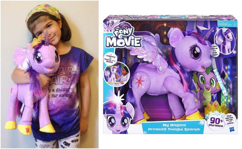 My Magical Princess Twilight Sparkle toy (from My Little Pony The Movie)