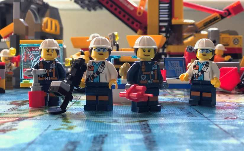 LEGO City Mining sets - Representation Matters, LEGO City female minifigures
