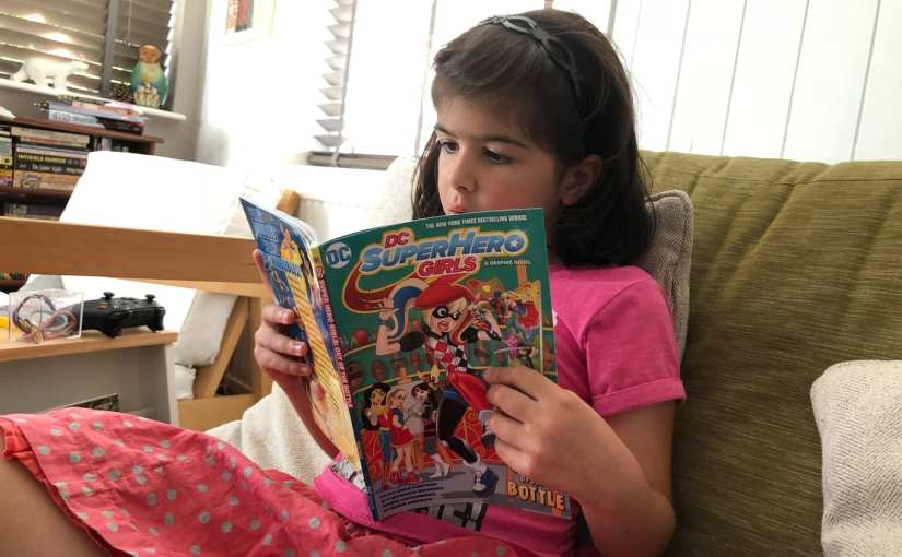 DC Super Hero Girls: Out of the Bottle graphic novel review