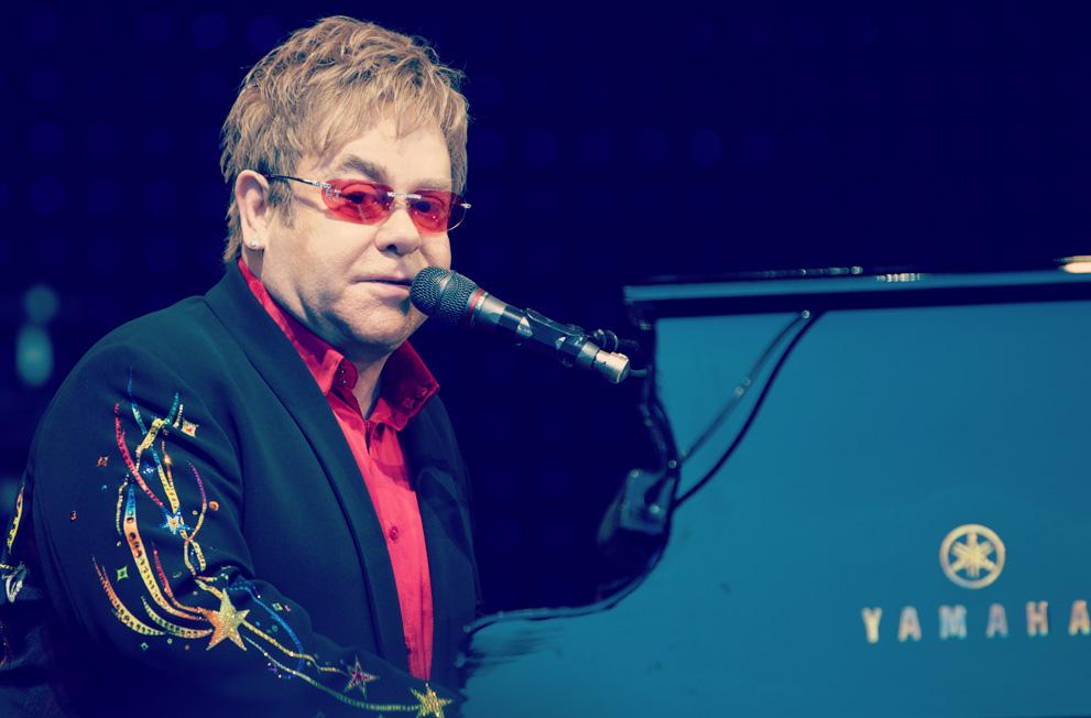 Playing in 2017 - Elton John