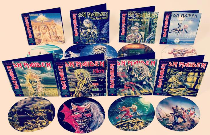 Iron Maiden Vinyls