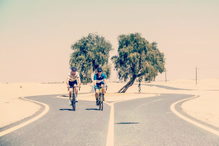 Dubai Cycling Al Qudra