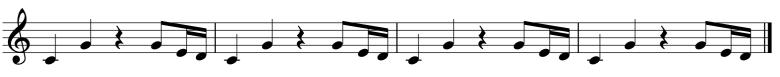 Melodic Ostinato 3