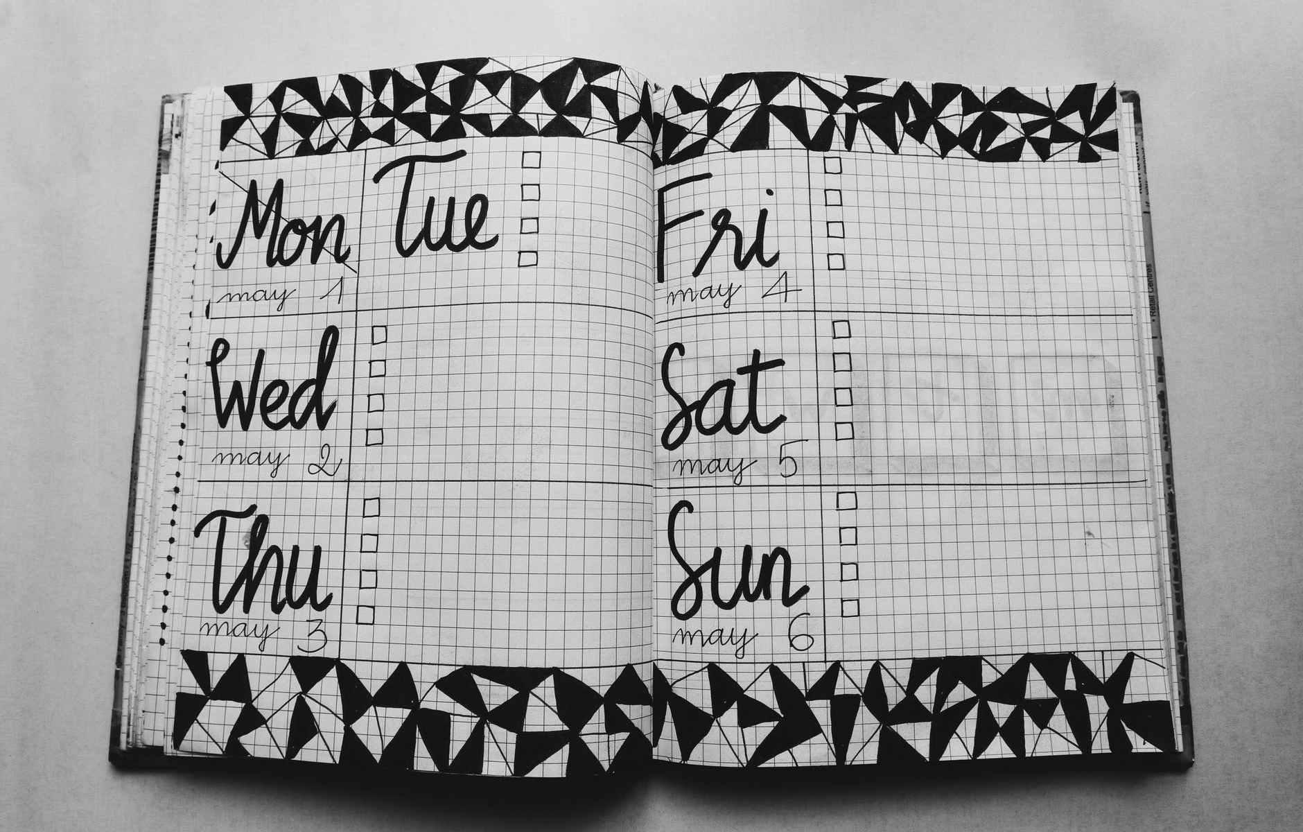 One Week Done