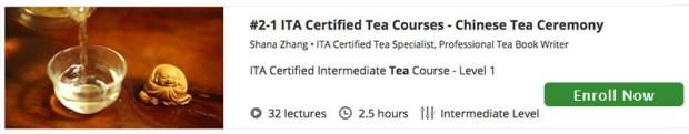 tea course