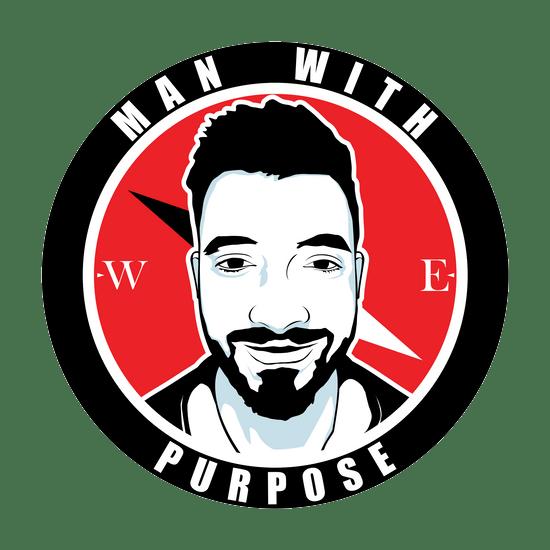Man with purpose logo
