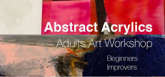 Abstract Acrylics – Adult Workshop at The Isle Gallery