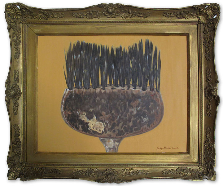 "The Paintbrush - Gold 19"" x 15"" (480 x 380mm)"