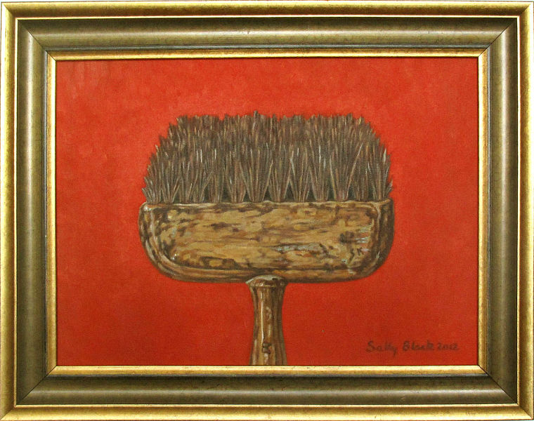 "The Paintbrush - Vermillion 14.5"" x 11"" (360 x 280mm)"