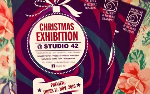 Christmas Exhibition at Studio 42