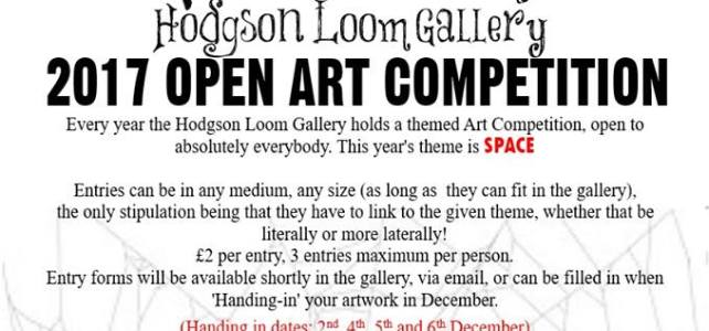 Hodgson Loom Open Art Competition 2017 – SPACE