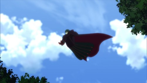 見えざる手に乗って飛ぶペテルギウス