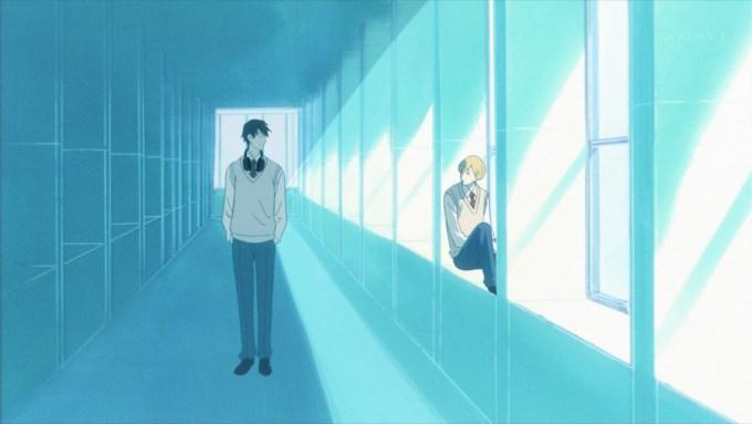 ジーンとニーノの高校時代(第2話画像)