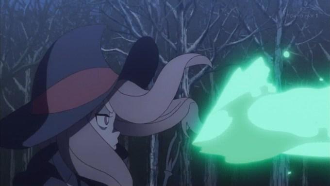 スーシィの戦闘(第5話画像)