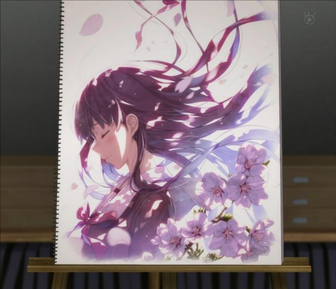 澤村スペンサー英梨々(深崎暮人)の絵,冴えない彼女の育てかた2期10話より