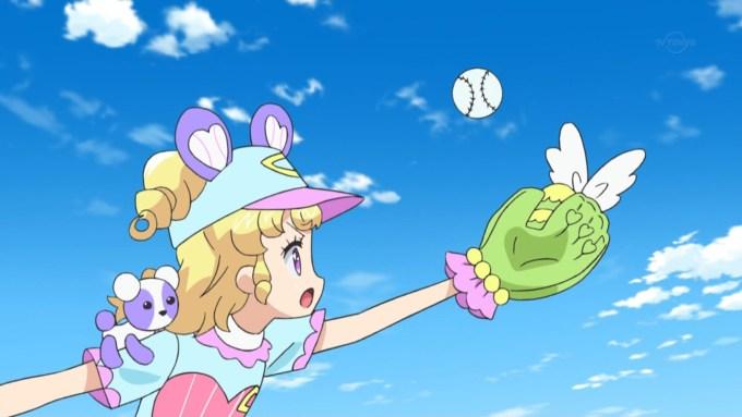ボールを取る夢川ゆい,アイドルタイムプリパラ11話より