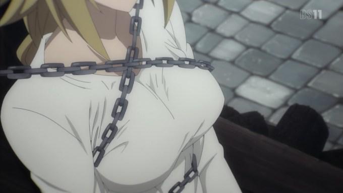 ジャンヌダルクの胸