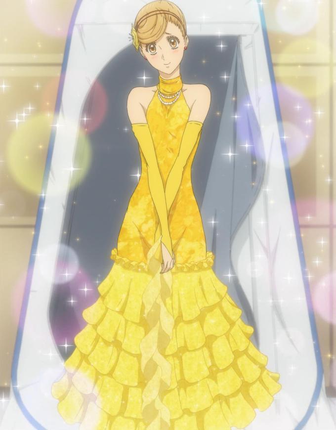 ドレスを着た赤城真子