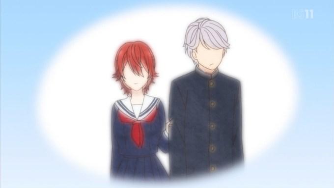 高校時代の一条花月と矢嶋基
