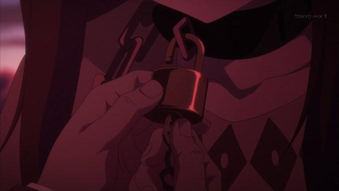 フォトの首輪の鍵の開錠