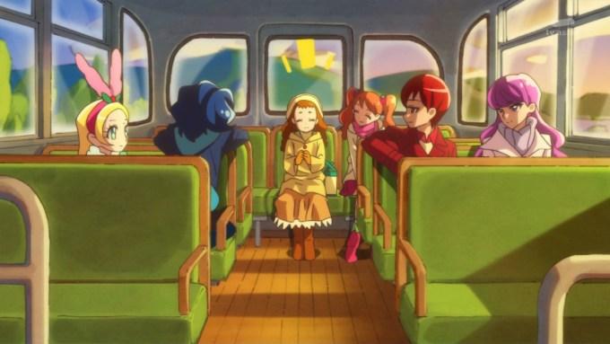 バスに乗るキラパティメンバー