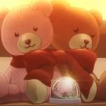 【スロウスタート】第3話感想 クマのぬいぐるみと桜のスノードーム