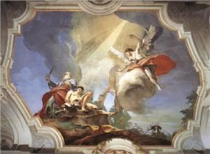 Abraham Sacrificing Isaac by Giovanni Battista Tiepolo