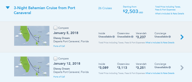 Best Cruise Lines: Disney cruise pricing