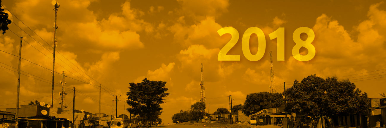 African Telecommunications Infrastructure in 2018 | Many Possibilities